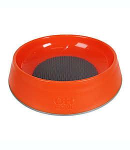 Tazón para alimento de mascota Hyper Pet™ de caucho en rojo