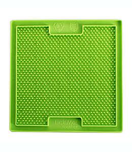 Tapete para alimentación lenta Hyper Pet™ para mascota en forma de tapete de caucho en verde