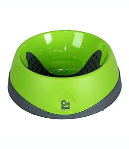 Tazón para alimento de mascota Hyper Pet™ de caucho en verde