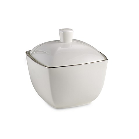 Mikasa® Couture Platinum Covered Sugar Bowl