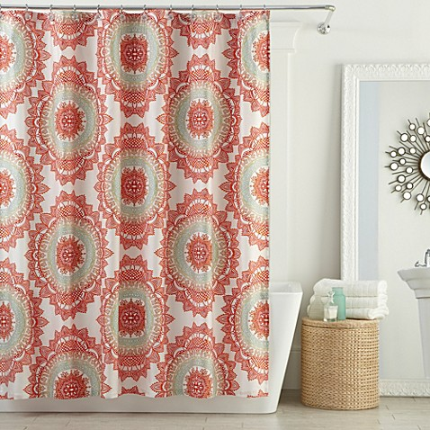 Lovely Anthologyu0026trade; Bungalow Shower Curtain ...