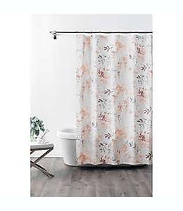 Cortina de baño de algodón Croscill® Liana de 1.82 x 1.82 m color rosa