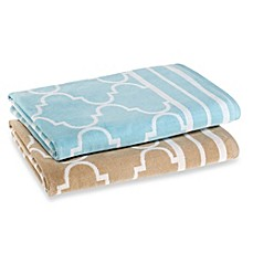 image of Fretwork Oversized Beach Towel