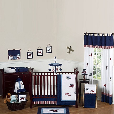 Sweet Jojo Designs Vintage Aviator Crib Bedding Collection