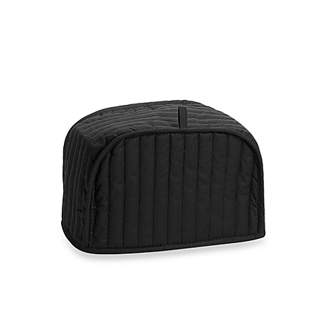 Mydrap Two-Slice Toaster Cover in Black