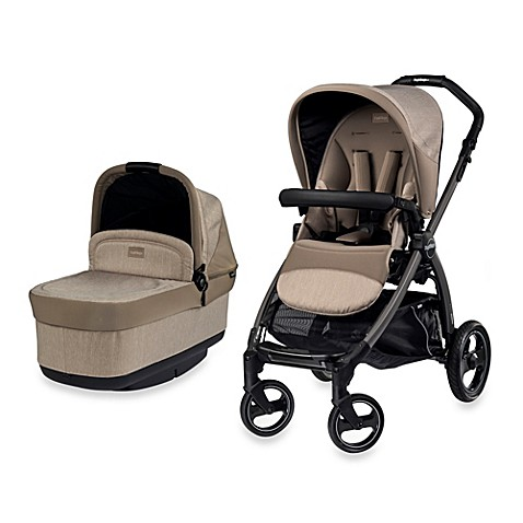 peg perego book pop up stroller in cream buybuy baby. Black Bedroom Furniture Sets. Home Design Ideas