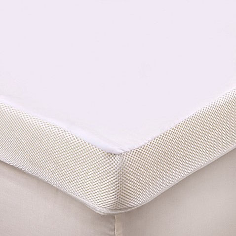 therapedic® 3-inch memory foam mattress topper - bed bath & beyond