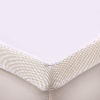 Therapedicu0026reg; 3 Inch Memory Foam Mattress Topper