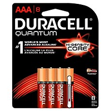 image of Duracell Quantum 8-Pack AAA Batteries