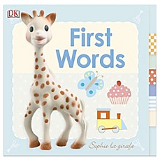 image of DK Publishing Baby: Sophie la girafe®: First Words Board Book