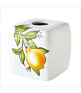 Dispensador de pañuelos desechables SKL Home by Vern Yip Citrus Grove en blanco