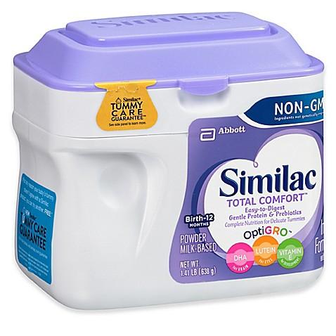 Similac 174 Total Comfort 174 22 5 Oz Non Gmo Large Size Powder