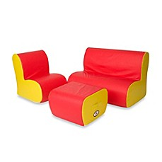 image of Foamcraft Foamnasium™ Cloud Seating Group in Red/Yellow
