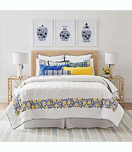 Set de colcha matrimonial/queen One Kings Lane™ Open House Wainscott en amarillo, 3 piezas