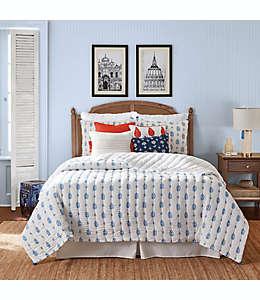 Set de colcha matrimonial/queen One Kings Lane™ Open House Westerly en azul, 3 piezas