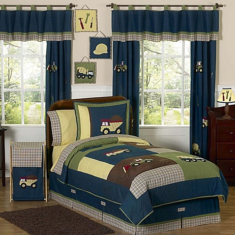 Good Sweet Jojo Designs Construction Zone Bedding Collection
