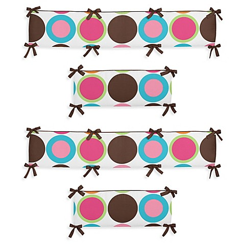 Sweet jojo designs deco dot crib bedding collection sweet jojo designs deco dot crib bumper - Deco babybed ...