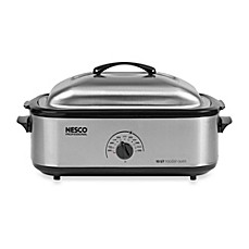 image of Nesco® 18-Quart Stainless Steel Electric Roaster Oven