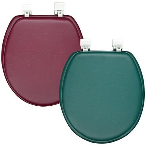 Ginsey Soft Padded Round Toilet Seat Bedbathandbeyond Com