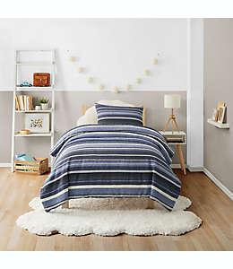 Set de edredón individual de algodón UGG® Brad color azul marino