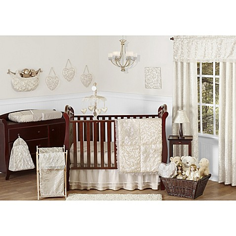 Sweet Jojo Designs Victoria Crib Bedding Collection Bed