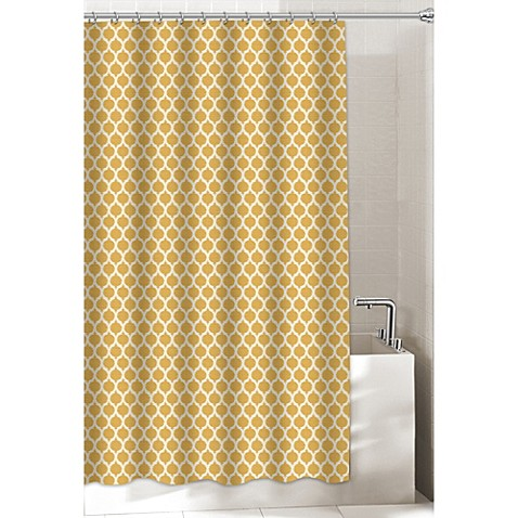 Morocco 54 Inch X 78 Inch Stall Shower Curtain