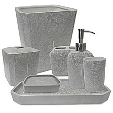 image of Kassatex Shagreen Bath Accessory Collection