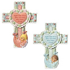 image of Precious Moments® Precious Little Blessings Cross with Stand