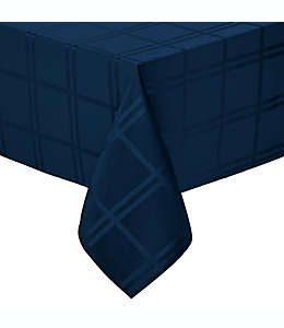 Mantel liso rectangular de poliéster Wamsutta® de 1.52 x 2.59 m color índigo