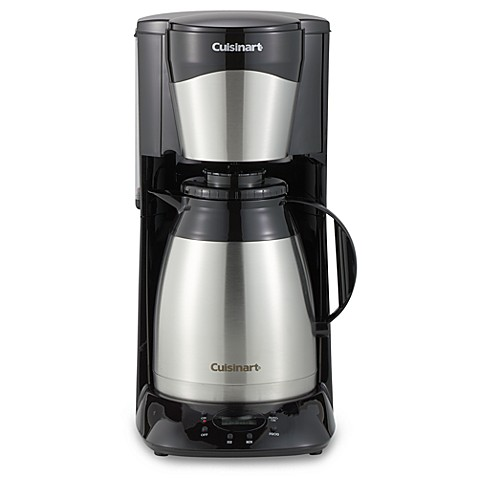 cuisinart 12 cup coffee maker cuisinart 174 12 cup stainless steel programmable thermal 29420