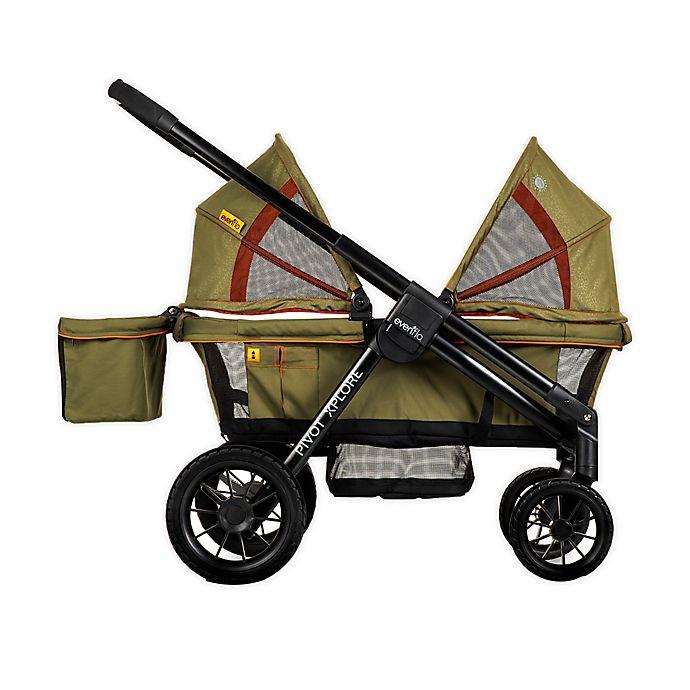 Evenflo® Pivot Xplore™ All-Terrain Double Stroller Wagon in Gypsy
