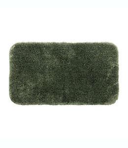 Tapete de nylon para baño Comforel® Wamsutta® Duet color verde salvia