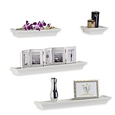 image of Melannco 4-Piece Ledge Set in White
