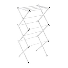 image of Polder® Compact Accordion Dryer Rack in White