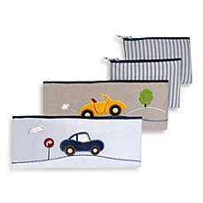 image of New Country Home Laugh Giggle & Smile My Little Town 4-Piece Bumper Pad Set
