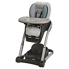 image of Graco® Blossom™ 4-in-1 High Chair Seating Cushion System in Sapphire™