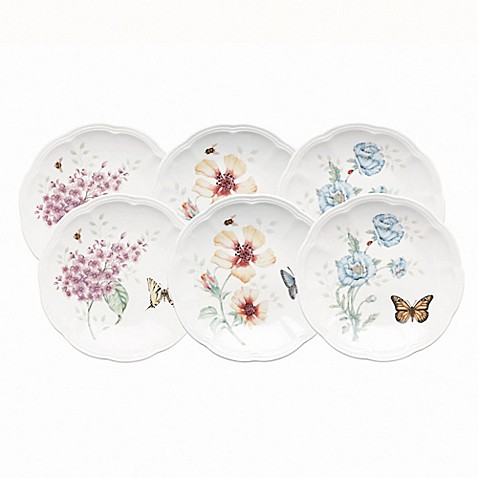 Lenox® Butterfly Meadow® 6-Inch Plate (Set of 6)