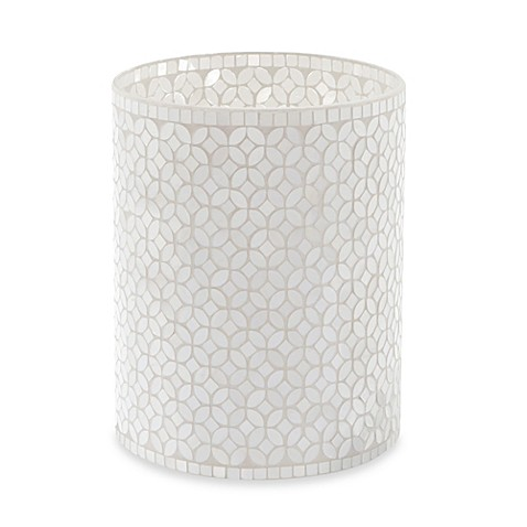 Esme wastebasket bed bath beyond - Elegant wastebasket ...