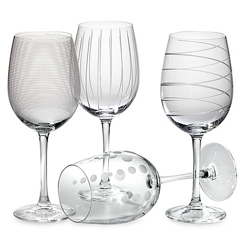 Home Essentials And Beyond Hand Painted Wine Glasses