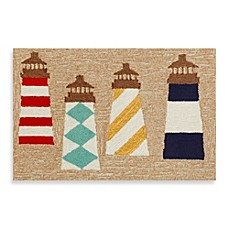 image of Trans-Ocean Frontporch Lighthouses Door Mat