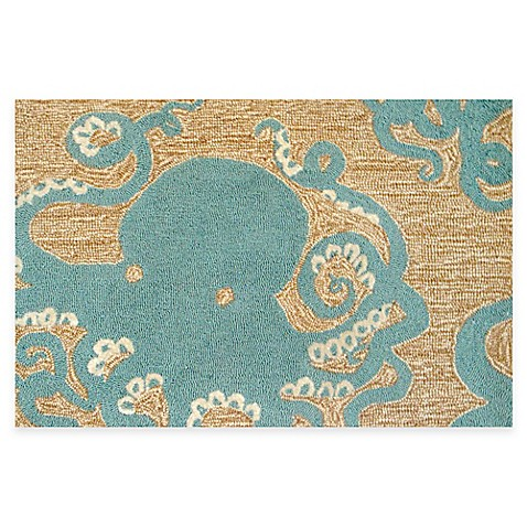 Trans Ocean Frontporch Octopus Accent Rug Bed Bath Amp Beyond