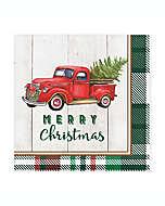 Servilletas de papel Merry Truck, 20 piezas