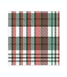 Servilletas de papel Merry Truck Plaid