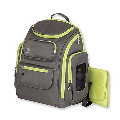 jeep perfect pockets backpack diaper bag bed bath beyond. Black Bedroom Furniture Sets. Home Design Ideas