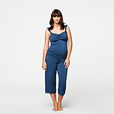 image of Cake Lingerie Maternity and Nursing Camisole in Blueberry Torte