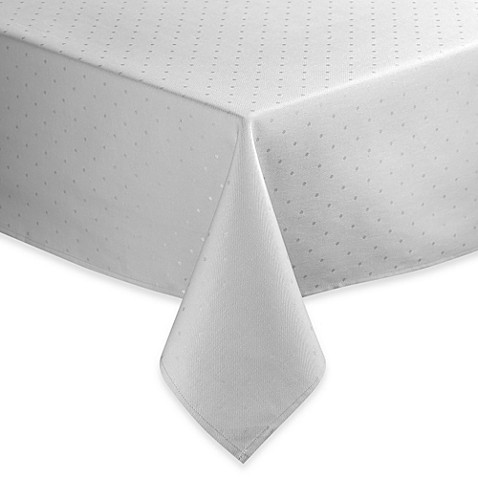 Kate Spade New York Larabee Dot Tablecloth Bed Bath  Beyond - Kate spade table linens