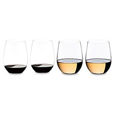 online glasses ordering evy6  image of Riedel庐 O Cabernet/Merlot + Viognier/Chardonnay Stemless Wine Glasses  Buy