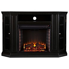 image of Southern Enterprises Claremont Convertible Media Fireplace