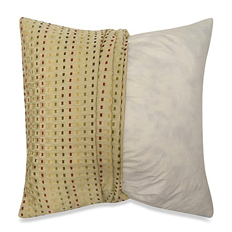Throw Pillows Make Your Own : Make-Your-Own-Pillow Dashes Square Throw Pillow Cover - Bed Bath & Beyond