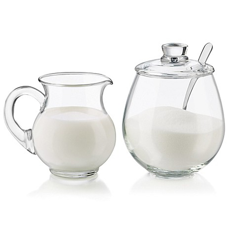 Dailyware™ 4-Piece Sugar and Creamer Set